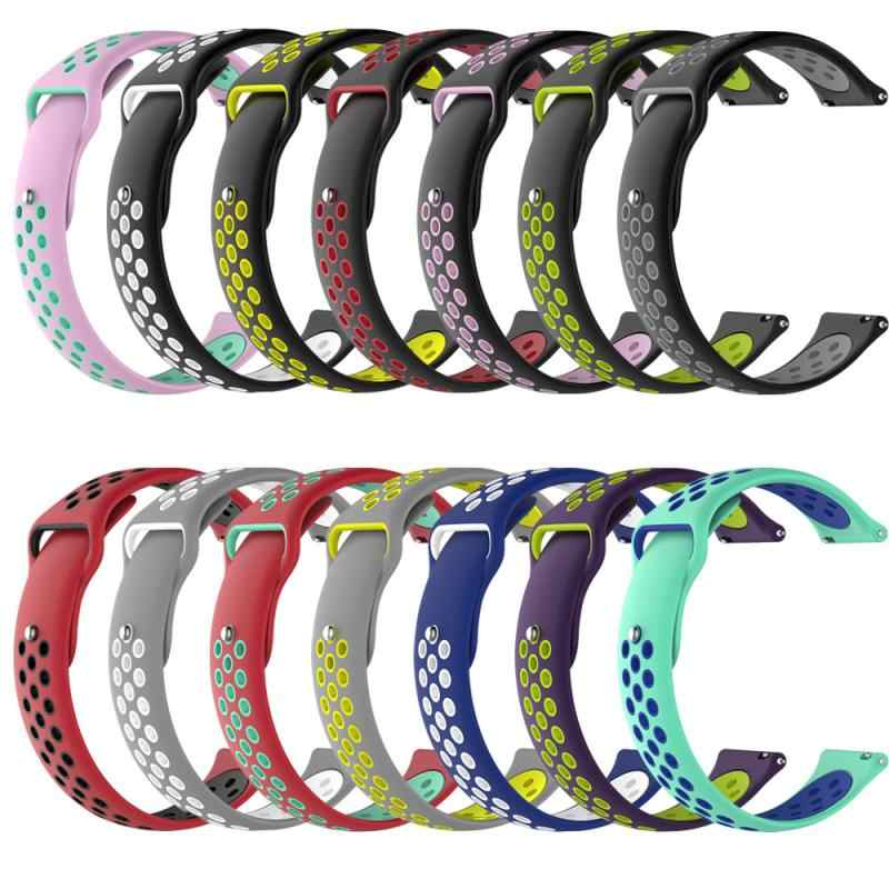 Silicone Strap for Huami Amazfit bip/bip lite Band Wristband Sport Smart Watch Accessories for Huami Amazfit bip 20mm series