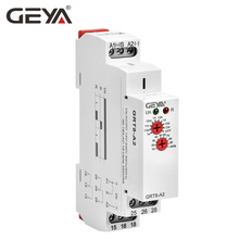 цена на GEYA GRT8-A Electronic 16A SPDT ON Delay Timer Relay Time Relay AC/DC12V-240V DIN Rail Delay On Relay 12V