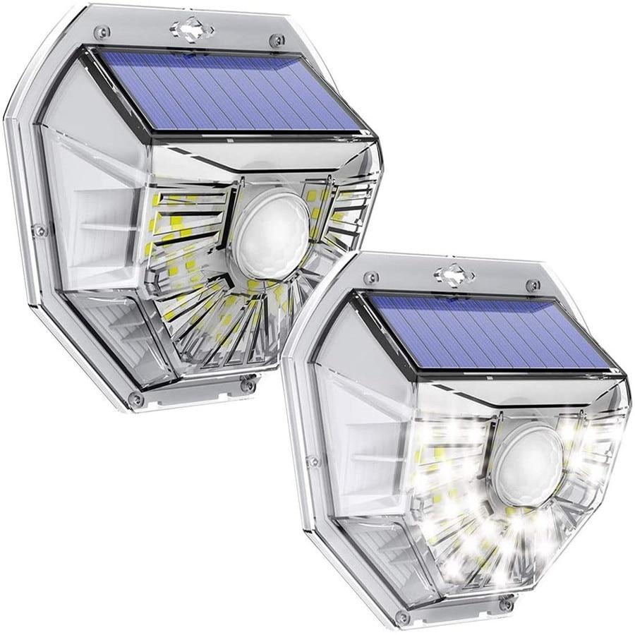 Motion Sensor 40 LED Solar Wall Security Light Exterior Wall Lamps Solar Powered Security Lights