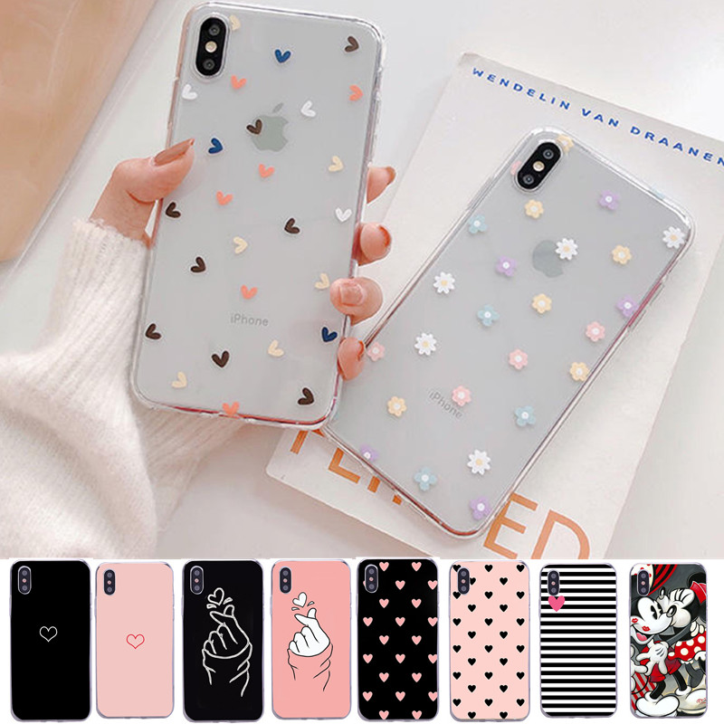 Case For Iphone 11 Case Cover Silicone Soft Shell Cover For Apple IPhone 5 5s Se 6s 7 8 Plus Xs 11 Pro Max X XR Bags Funda