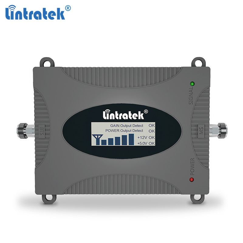 Lintratek Repeater 850MHz CDMA Signal Booster 2G 3G Amplifier Band 5 Mobile Phone Signal Repeater 850 3G UMTS
