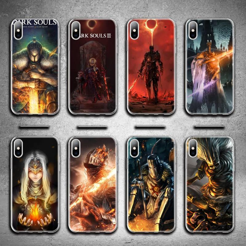 dark souls Phone Case for iphone 12 pro max mini 11 pro XS MAX 8 7 6 6S Plus X 5S SE 2020 XR cover