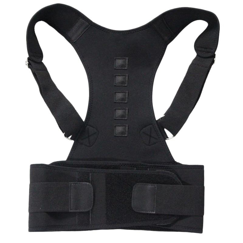 Magnetic Therapy Posture Corrector Shoulder Back Support Belt For Men Women
