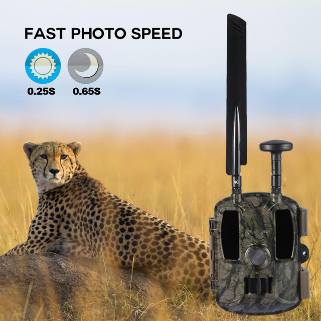 BL480L-P Trail Camera 940nm IR Wildlife Forest Hunting Trap Camera Surveillance Camera GPS Location Wild Tracking Cam для охоты 5