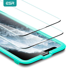 ESR for iphone 11 Glass for iPhone SE 2020 Glass Screen Protector HD Tempered Flim for iPhone 11 Pro Glass XR X XS 12 Pro Max cheap Clear Anti Blue-ray CN(Origin) APPLE Front Film for iphone 11 glass screen protector for iphone xr screen protector for iphone 11pro max screen protector