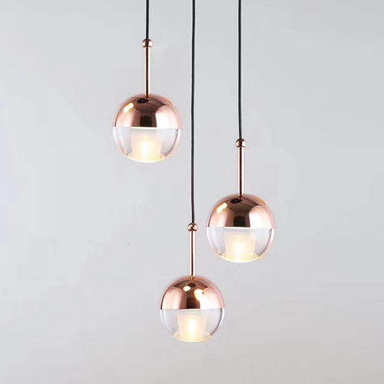 Lustre Pendente Wood LED  Pendant Lights Bedroom Hanging Lamp