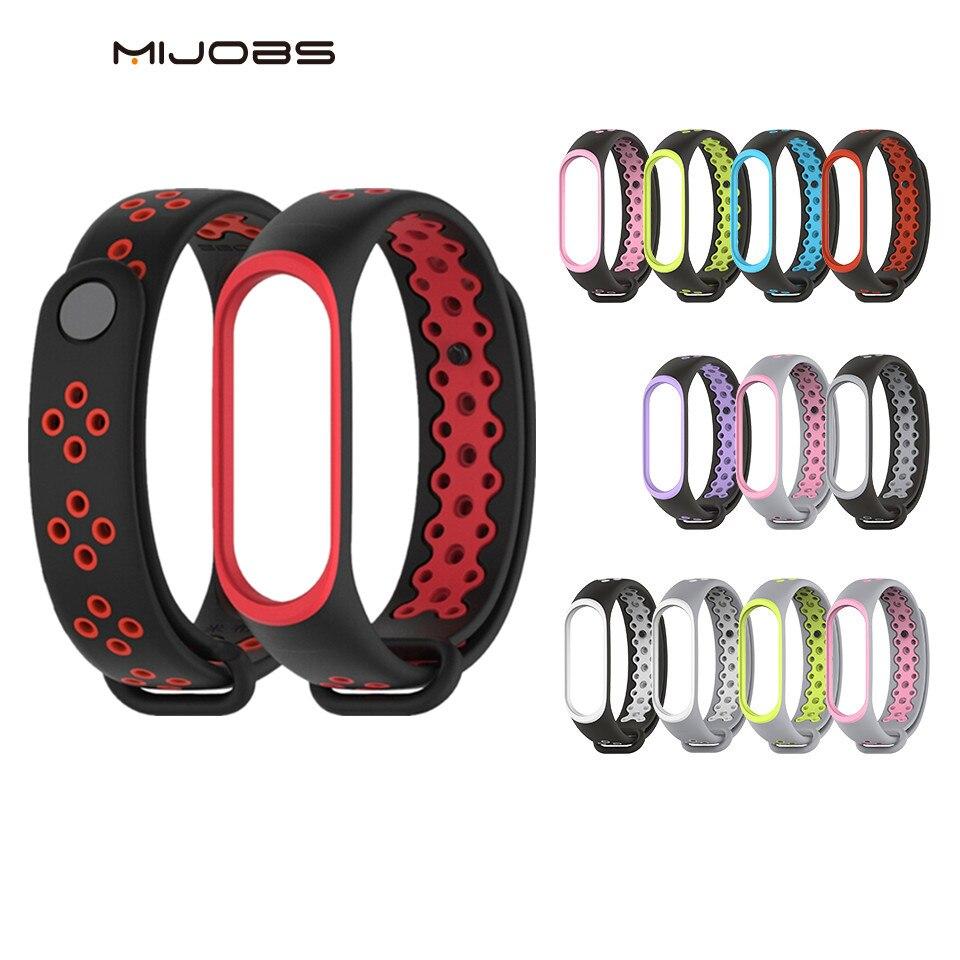 Mi Band 3 Strap Sport Wrist Strap For Xiaomi Mi Band 3 Black Silicone Bracelet For Band3 Xiaomi Mi Band 3 Smart Watch Bracelet