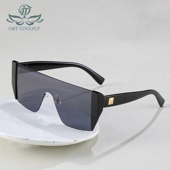 2020 New Fashion Square Sunglasses Men Women Vintage Gradient Brand Designer Luxury Color Lens Frame Female Classic Sunglasses