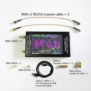 Image 5 - Nanovna F Verbeterde Versie 4.3 Inch Ips Tft Lcd Hf Vhf Uhf Uv Vector Netwerk Analyzer 50K 1Ghz 5000mA Batterij