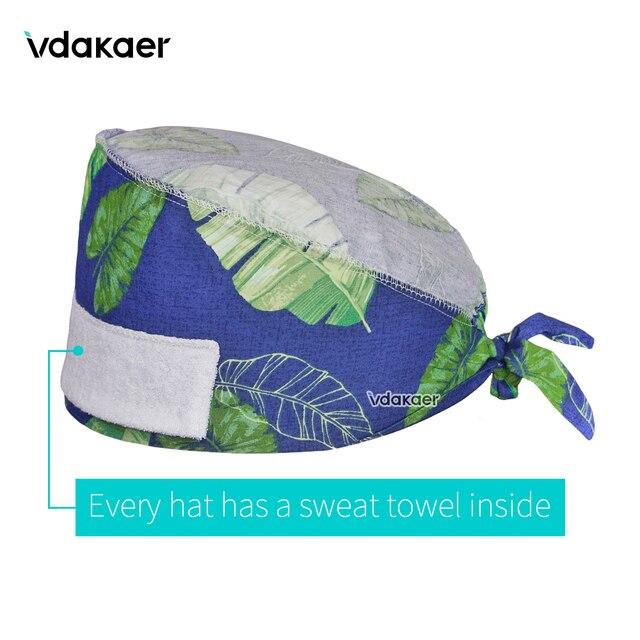 مبيعات المصنع مباشرة الدعك مبيعات كبيرة في أنماط مختلفة فرك قبعات الحيوانات الأليفة الصيدلة صالون تجميل غطاء طبيب الأسنان البيطرية قبعة