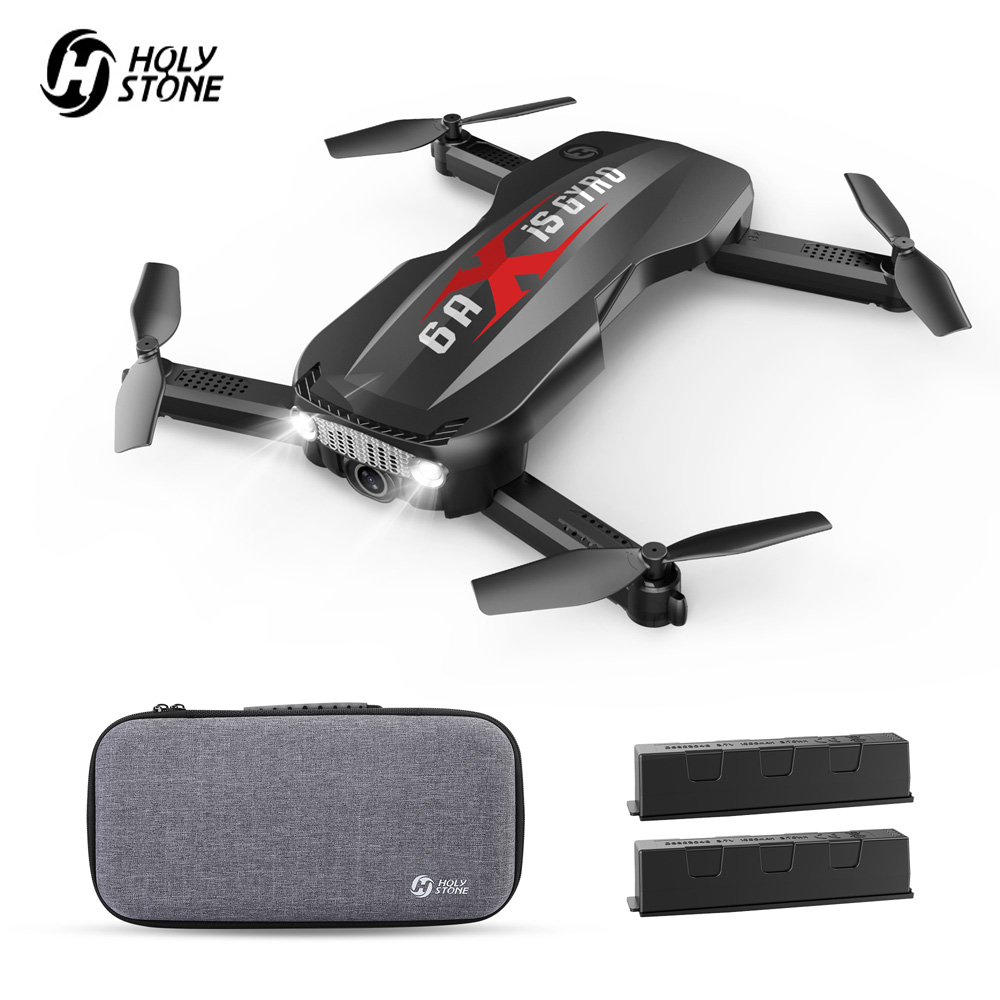 Holy Stone HS160 Pro Foldable Drone With Camera HD 1080P FPV Live Video 110° FOV Wide-Angle Lens RC Helicopter Quadcopter Case
