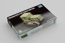 цена на Trumpeter 1/72 07111 Russian ChTZ S-65 Tractor with Cab Military Display Toy Plastic Assembly Building Model Kit
