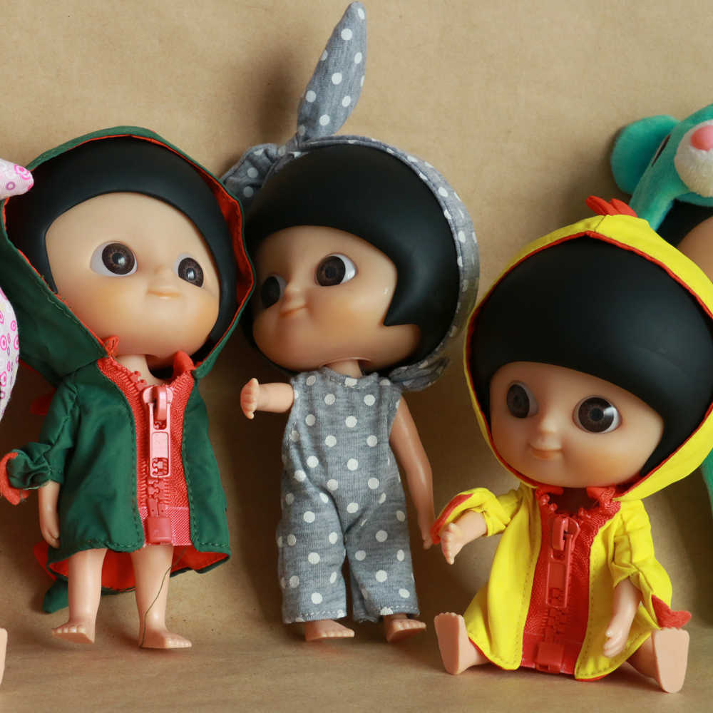 Мода прекрасный IXDOLLS Blyth большие глаза головы в одежде Кукла Медведь динозавр фабрика фигурка Мини милый подарок для девочки