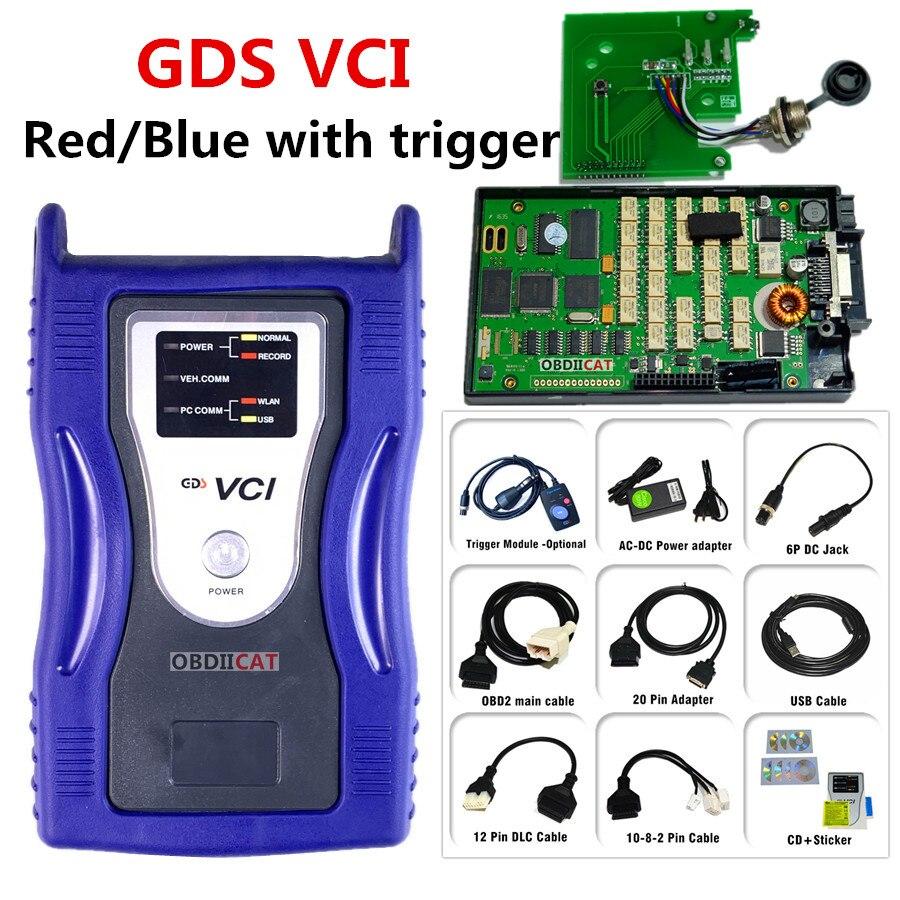 Gds vci ferramenta de diagnóstico automático forki-a hyu-ndai scanner obd2 diagnosticar firmware de interface de programação
