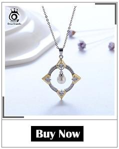 H84869562890d4865bc2b914509d0d6c1p ORSA JEWELS 925 Sterling Silver Women Necklaces&Pendants Freshwater Pearls Unique Mermaid Pendants Fashion Female Jewelry PSN48