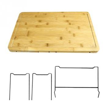 L gumes cuisine planche d couper avec bo te de rangement lisse multifonction pratique fruits bambou