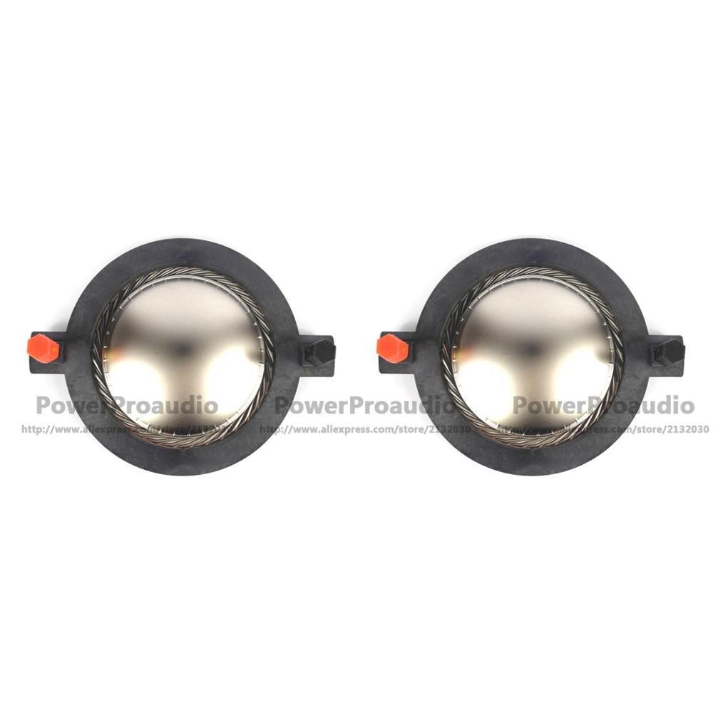2 шт. сменная диафрагма для DE82TN,DE85,DE85TN,DM5001 для B & C DE75/750/TN DE82/85 8 Ом или 16 Ом титановый купол алюминиевый провод
