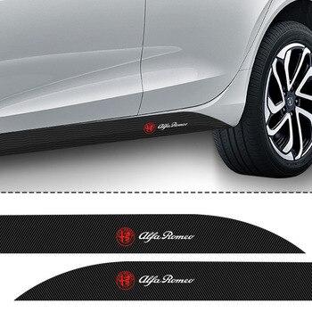 Pegatina lateral para coche, 2 uds., para Alfa Romeo 159 147 156...