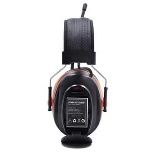 Image 4 - Protear DAB+/DAB Radio Hearing Protector 25dB 1200mAh Lithium Battery Earmuffs Electronic Bluetooth Headphone Ear Protection