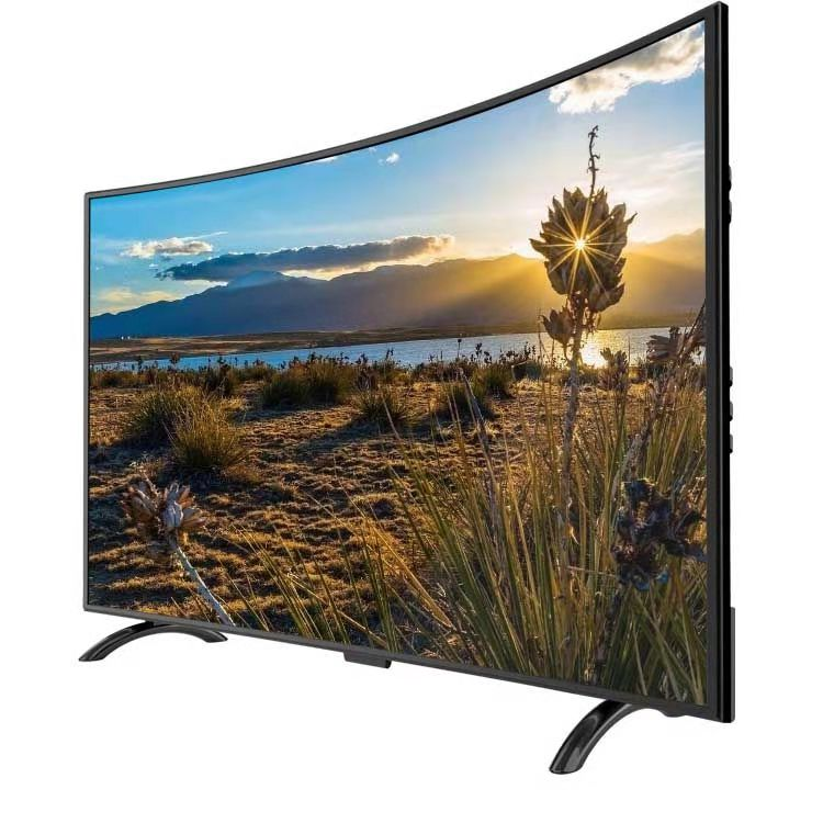 75 inch curved 4K TV wifi KTV TV Android OS smart led television TV image