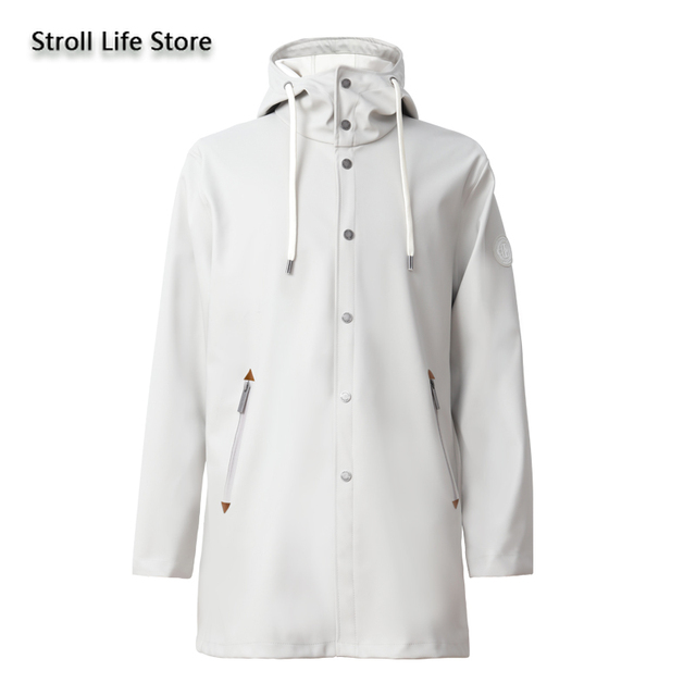 Adult Raincoat Women Rain Poncho Outdoor Hiking Couple Long Rain Coat Thickened Waterproof Jacket Windbreaker Impermeable Gift 4