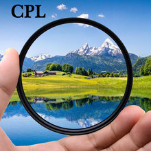 KnightX CPL polarizing Camera Lens Filter For canon sony nikon 400d d5100 d70 1200d accessories d3300 52mm 55mm 58mm 67mm 77mm(China)