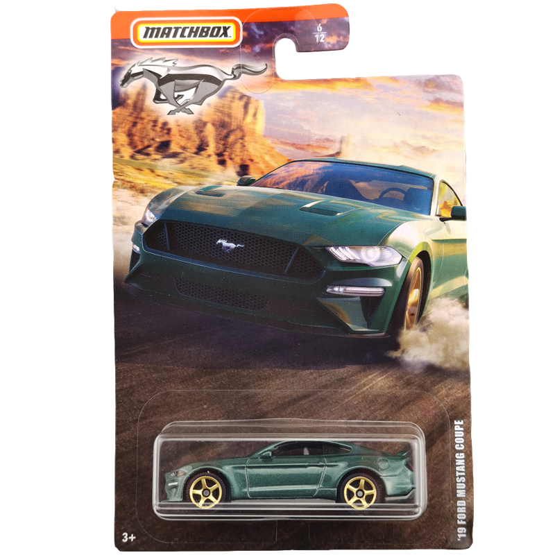 2020 Matchbox 1/64 Car 19 FORD MUSTANG COUPE  Collective Edition Metal Diecast Car Alloy Model Car Kids Toys Gift