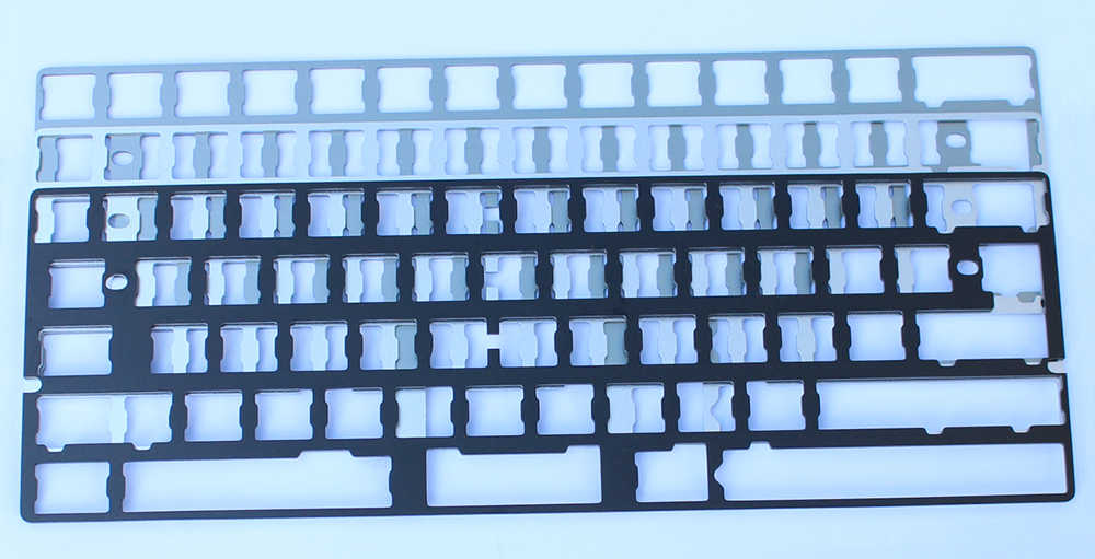 Aluminum Plates Support Gh60 Poker Xd60 Xd64 Cnc Anodized Plate