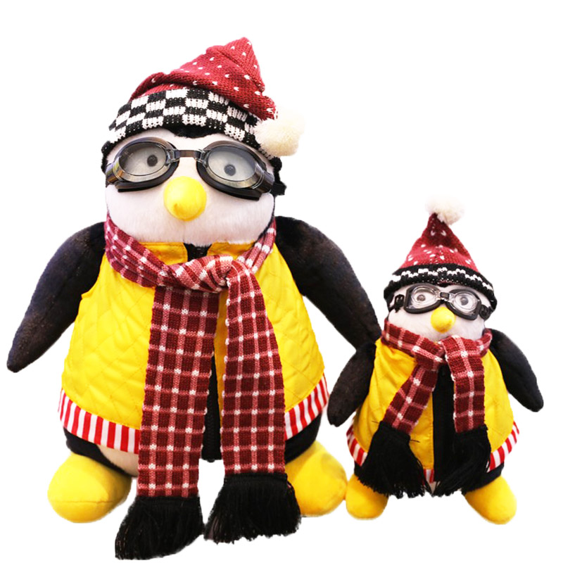 27/47 CM Friends Hugsy Serious Friends Joey's Penguin Plush Toys Rachel Stuffed Doll Toys For Kids Christmas Birthday Gift
