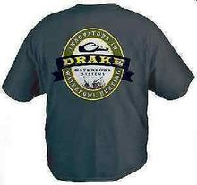Drake Waterfowl 385 Large Youth Gunner Short Sleeve T Shirt Navy Blue 13521 Tees Brand Clothing Funny T-Shirt top tee