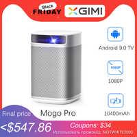 XGIMI-proyector Mogo Pro imtv Full HD DLP Mini Pocket, Android 9,0, 3D, LED, para cine en casa, con batería de 10400mAH