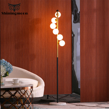 Modern Fashion Floor Lamp Nordic Luxury Metal Standing Lamps for Living Room Bedroom Bedside Home Deco Decorative Floor Lights
