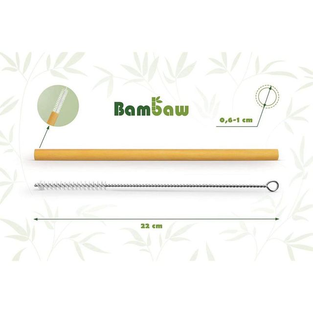 Reusable Bamboo Drinking Straws Reusable straw Strong and Durable Cocktail straws biodegradable straws Eco Friendly Straws BPA f 3