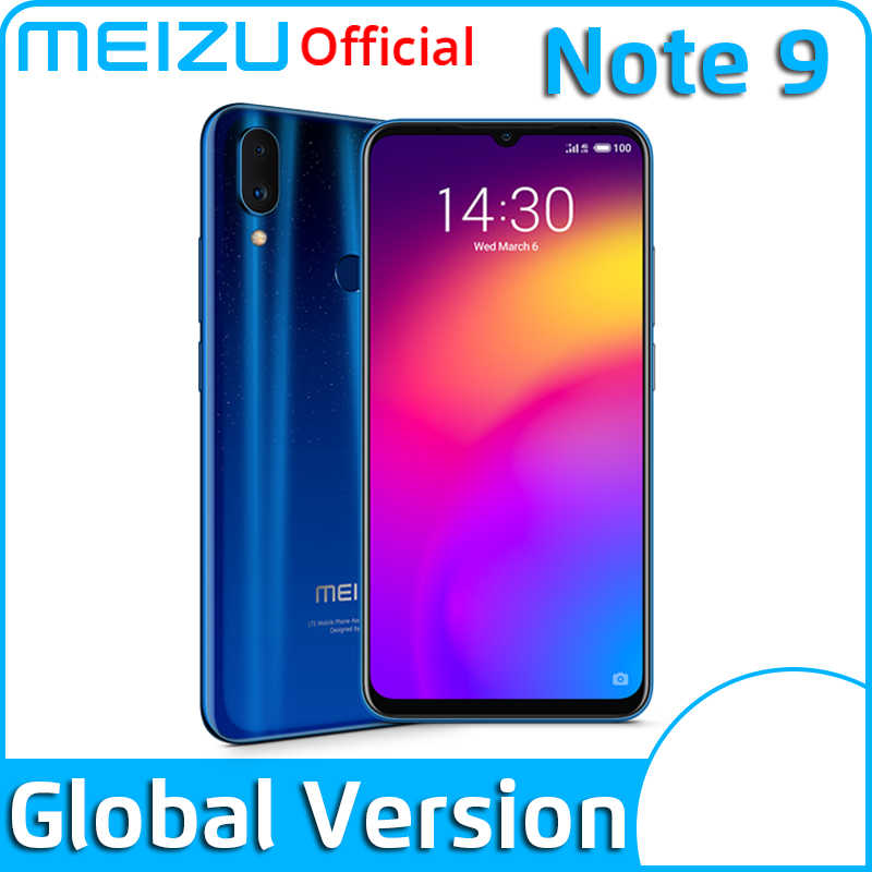 Version mondiale Meizu Note 9 4GB 64GB Smartphone Snapdragon 675 Octa Core Note9 48MP double caméra AI avant 20MP 4000mAh