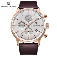 Pagani design automático data relógios masculinos relógios de quartzo 100 m cronógrafo à prova djapan água japão vk67 movimento relógio relogio masculino