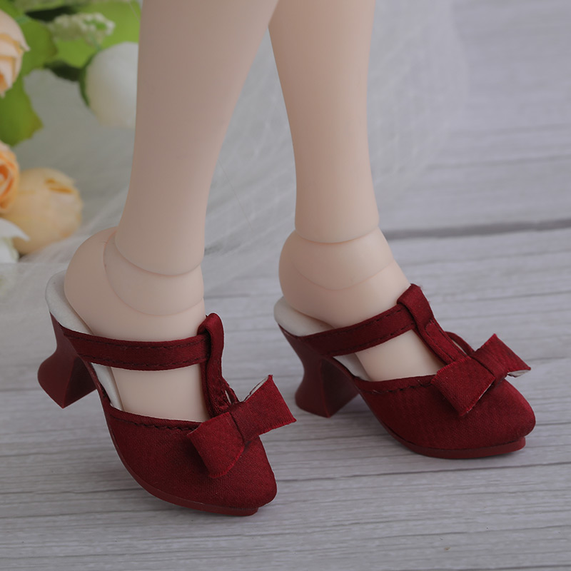 New BJD Shoes 1/4 for Minifee Doll Body about 5.5cm FairyLand High Heels Shoes MNF Doll Accessories Active Line Girl Body Toys
