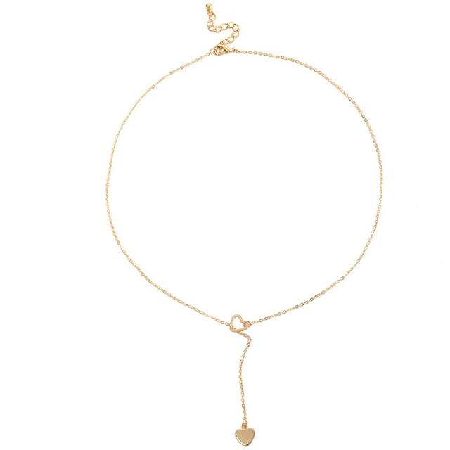 Beautiful dangle heart necklace 3