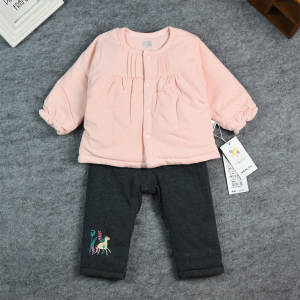Autumn New Style Baby Thin Cotton Set Health Express Infant out Clothes Korean-style