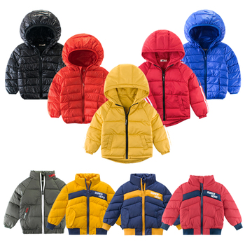 2-12 Years Kids Boys Winter Down Jacket Coat Clothes WindProof Children Clothes Warm Fashion Outerwear Boys Coat Clothing winter clothes for boys kids down suits 2018 baby girl jacket clothes sets overalls warm children outerwear jumpsuit snowsuit