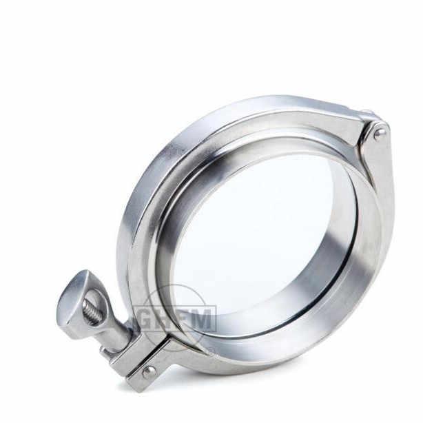 送料無料 304 ステンレス鋼フープ健康クラス速マウントクランプヘビーパイプ固定高速ジョイントチャック手錠