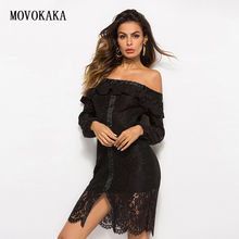Fashion Lace Dress Black Dress Women Elegant Vestidos Dresse
