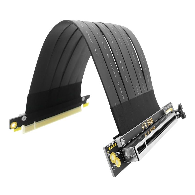 Полноскоростной кабель-удлинитель для видеокарты 3,0 PCIE X16, экранированный кабель, совместимый с шасси ATX Phanteks Lianli MSI Adapter