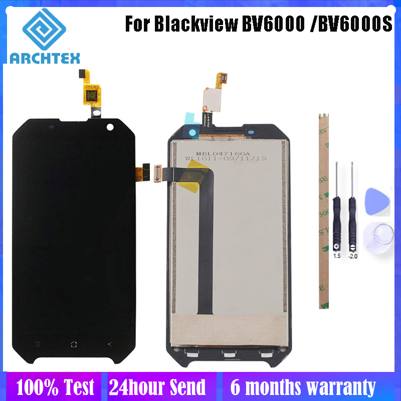 4.7 inch For Original <font><b>Blackview</b></font> <font><b>BV6000</b></font> BV6000S LCD Display + Touch Screen Digitizer Assembly <font><b>Parts</b></font> 100% Tested Free Tools image