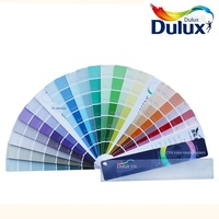 Dulux DULUX card of this international standard latex paint CIC coating color card home