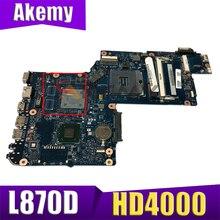 Материнская плата H000042250 для ноутбука Toshiba Satellite L870D L875D, материнская плата HM76 GMA HD4000 DDR3