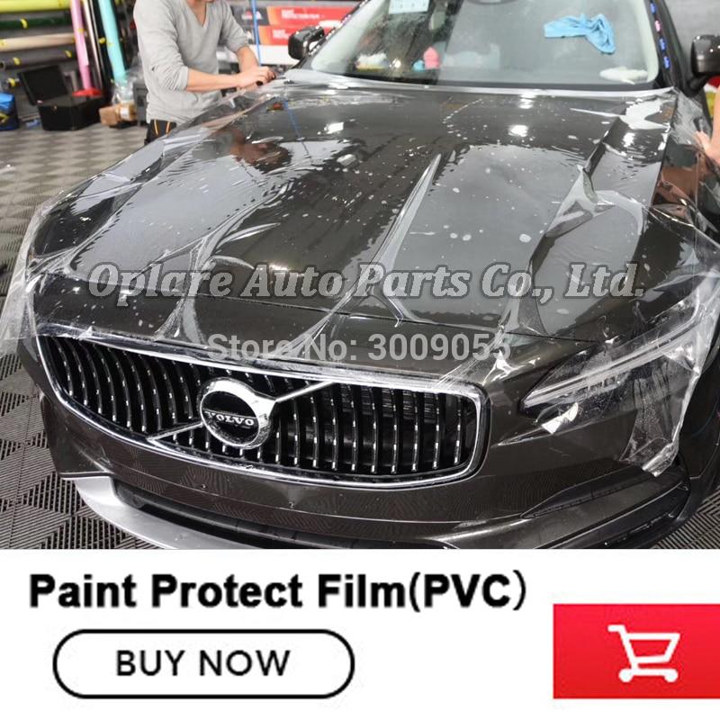 Ordinary  Grade Heating  Repairing PPF Car Paint Protection Film 1.52m*15m Transparent Protective Film PPF Film