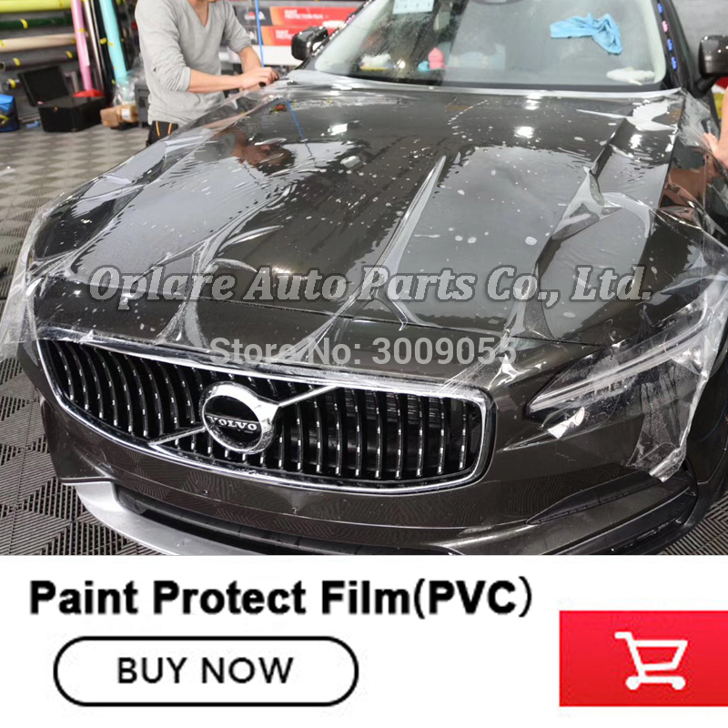 ordinary grade heating repairing PPF Car Paint Protection Film 1.52m*15m Transparent Protective Film PPF Film