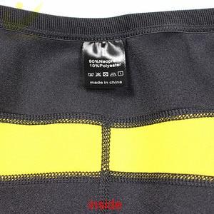 Image 3 - LAZAWG sıcak neopren pantolon vücut şekillendirici pantolon spor egzersiz Legging sıcak termo bel eğitmen korse Shapewear ev spor popo Lifte