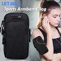 Универсальный 6,8 ''Водонепроницаемый спортивная повязка на руку сумка световой для уличная спортивная повязка на руку для бега мобильный те...
