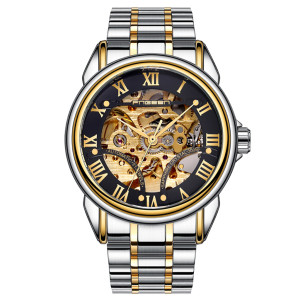 Luxury Mechanical Men Watches Water Resistant Stainless Steel Watch Automatic Mechanical Men Watch Self-winding Clock Hombre